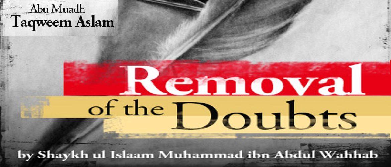 Kashf Ash-Shubuhaat (Removing Doubts Pertaining to Shirk) - PDF-MP3-Audio